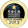 NECA Gold Awards Medals 2013 State Winner