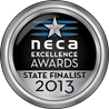 NECA Silver Awards Medals 2013 State Winner
